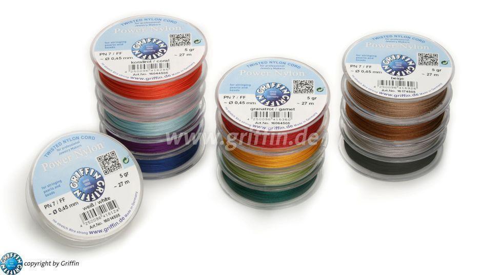 Powernylon Verschiedene Farben Und Stärken Perlenladen Bonn