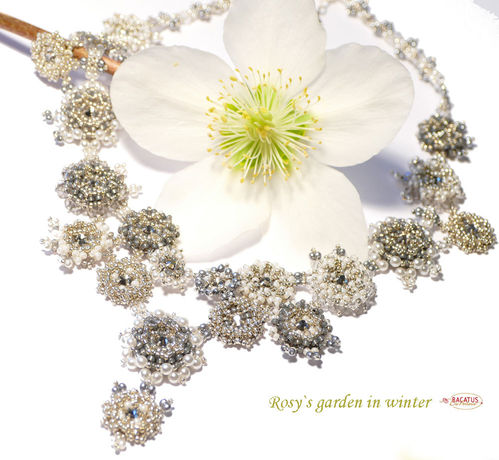 "Materialset ""Rosy`s Garden"" Collier - winter"
