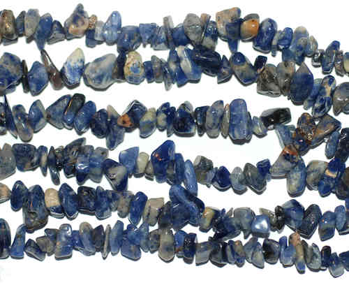 Sodalite Chips 5 x 8 mm, 1 Strand