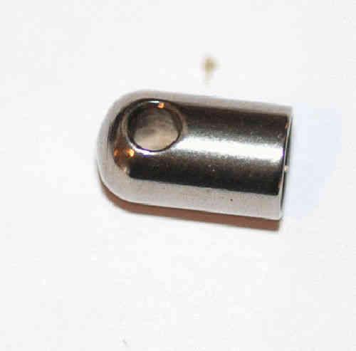 Endkappen aus Edelstahl f/ür 10 mm B/änder 11x15 mm 2 St/ück