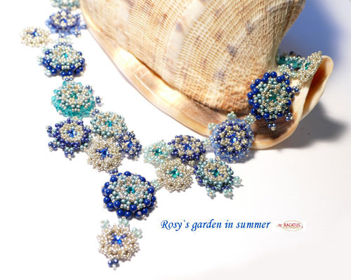 "Materialset ""Rosy`s Garden"" Collier - summer"