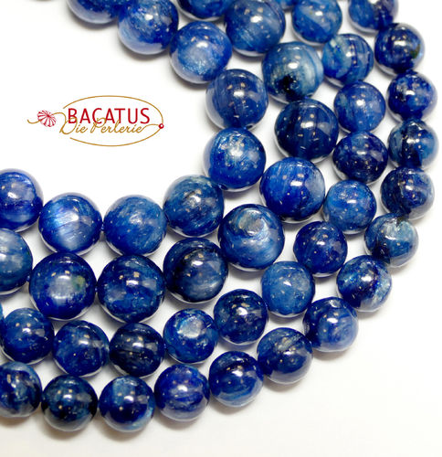 Kyanite Rounds Beads 5 - 6 mm, 1 Strand