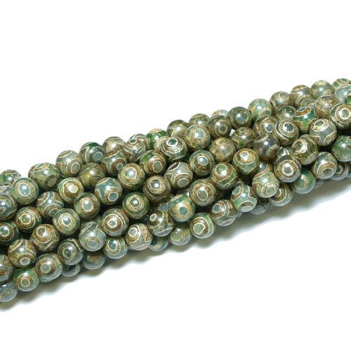 Glasperlen Kugel facettiert 6mm Perlen türkis grün pink gelb schwarz AB 1 Strang
