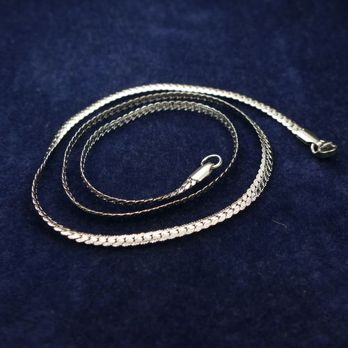Stainless Steel Chain Necklac 45 cm long, 1 piece