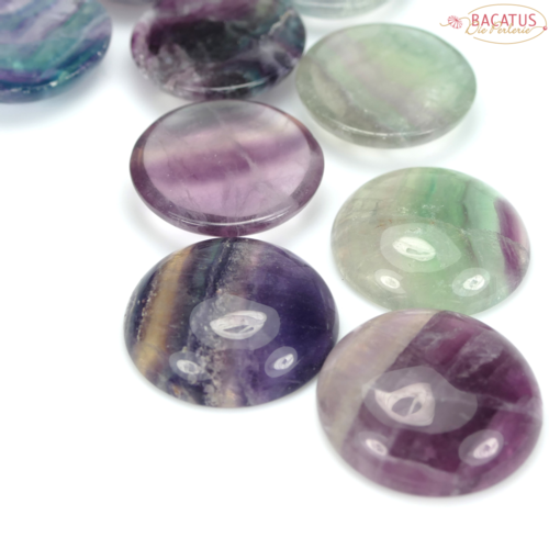 Fluorite Cabochon 30 mm, 1 piece